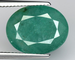 6.24 CT EMERALD TOP COLOR QUALITY GEMSTONE ZAMBIA ZE31