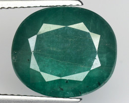 7.76 CT EMERALD TOP COLOR QUALITY GEMSTONE ZAMBIA ZE33