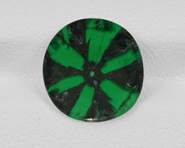 Trapiche Emerald, 2.30ct - Mined in Colombia | Certified by GIA