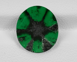 Trapiche Emerald, 3.48ct - Mined in Colombia | Certified by GIA