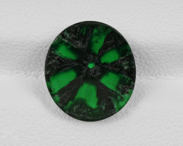 Trapiche Emerald, 2.94ct - Mined in Colombia | Certified by GIA