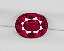 Ruby, 1.15ct - Mined in Burma   Certified by GRS