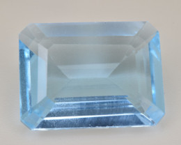 Natural Blue Topaz  10.65 Cts Top Quality Gemstone
