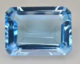 Natural Blue Topaz  12.46 Cts Top Quality Gemstone