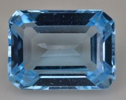 Natural Blue Topaz  12.55 Cts Top Quality Gemstone