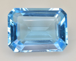Natural Blue Topaz  12.63 Cts Top Quality Gemstone