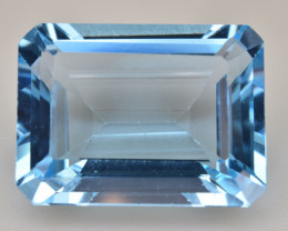 Natural Blue Topaz  12.95 Cts Top Quality Gemstone