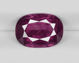 Ruby, 2.50ct - Mined in Kashmir   Certified by GIA