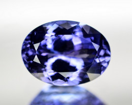 Superb Color 3.85 Ct Natural Tanzanite