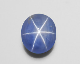 Blue Star Sapphire, 33.24ct - Mined in Sri Lanka | Certified by AIGS