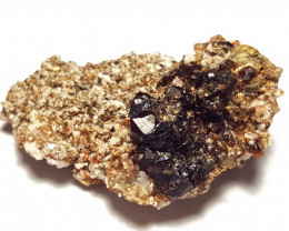 Amazing Natural lovely Garnet have good matrix with supreme luster 127Cts-A