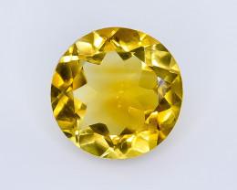 4.12 Crt Citrine Faceted Gemstone (Rk-19)