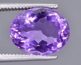 4.19 Crt Amethyst Faceted Gemstone (Rk-19)