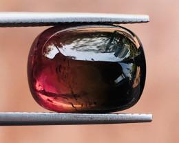 9.40 Carats Natural Bi Color Tourmaline Cabochon