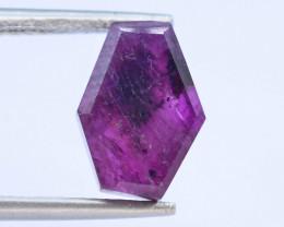 Rarest 3.85 ct Trapiche Pink Kashmir Sapphire