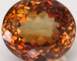 15.03 ct. 100% Natural Topaz Orangey Brown Brazil