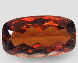 15.18 ct. 100% Natural Topaz Orangey Brown Brazil