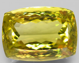 Clean Fabulous! 79.05 ct. 100% Natural Top Yellow Lemon Quartz Unheated