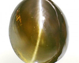 AIGS Certified India Alexandrite Cat's Eye, 1.13 Carats, Oval