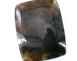 Genuine  25.00 Cts Moss Agate Cabochon