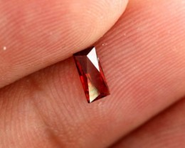 0.40 CTS GARNET FACETED NATURAL STONE  TBG-2446