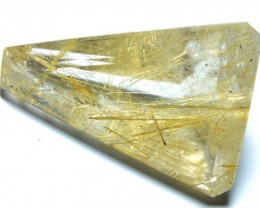 RUTILATED QUARTZ STONE 37.5 CTS TBG-1212