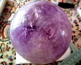 12500CTS AMETHYST HUGE SPHERE BRAZIL 2500G -120MM