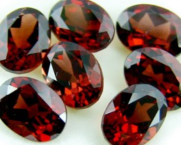 PARCEL BEAUTIFUL 8X6  GARNET 11.85 CARATS  TW 424