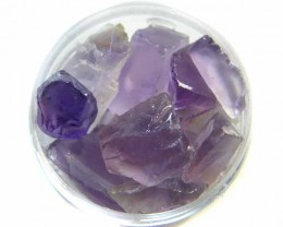 JAR AMETHYST ROUGH   58  CARATS   TW 450