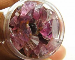 JAR PINK TOURMALINE   ROUGH   62CARATS   TW 495