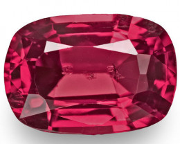 Burma Spinel, 0.94 Carats, Red Cushion