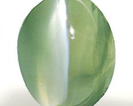 AIGS Certified India Alexandrite Cat's Eye, 0.87 Carats, Oval