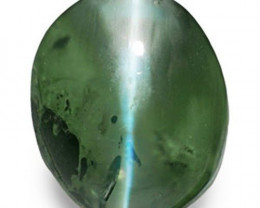IGI Certified India Alexandrite Cat's Eye, 1.30 Carats, Oval