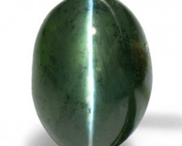 IGI Certified India Alexandrite Cat's Eye, 1.92 Carats, Oval