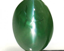 AIGS Certified India Alexandrite Cat's Eye, 0.77 Carats, Oval
