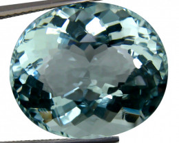 14.97 Cts Beautiful Sparkling Lustrous Natural  Aquamarine