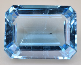 Natural Blue Topaz  13.13 Cts Top Quality Gemstone