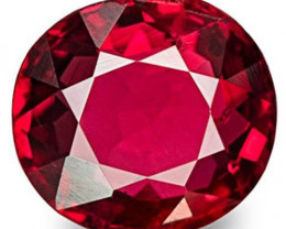 Burma Spinel, 0.64 Carats, Blood Red Oval