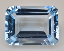 Natural Blue Topaz 13.20 Cts Top Quality Gemstone