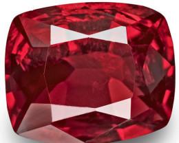 Burma Spinel, 1.03 Carats, Red Cushion