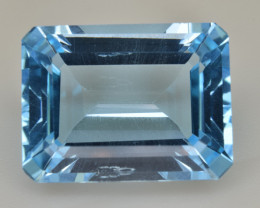 Natural Blue Topaz  13.62 Cts Top Quality Gemstone