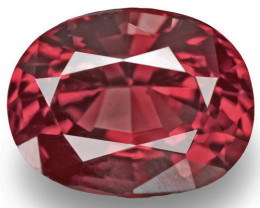 Burma Spinel, 1.33 Carats, Red Oval