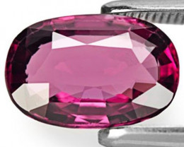 Sri Lanka Spinel, 2.10 Carats, Reddish Purple Cushion