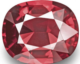 Burma Spinel, 1.03 Carats, Red Oval
