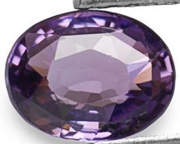 Sri Lanka Spinel, 1.43 Carats, Vivid Violet Oval