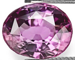 Sri Lanka Spinel, 1.26 Carats, Vivid Purple Oval