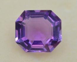 4.55 CT Natural Gorgeous Color Fancy Cut Amethyst ~ T