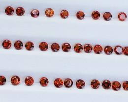 10.3 Carats  Mandarin Garnet  Gemstones Parcel