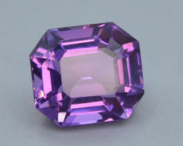 4.25 CT Natural Gorgeous Color Fancy Cut Amethyst ~ T
