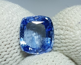 NO HEAT 2.09 CTS CERTIFIED NATURAL BEAUTIFUL BLUE SAPPHIRE SRI LANKA